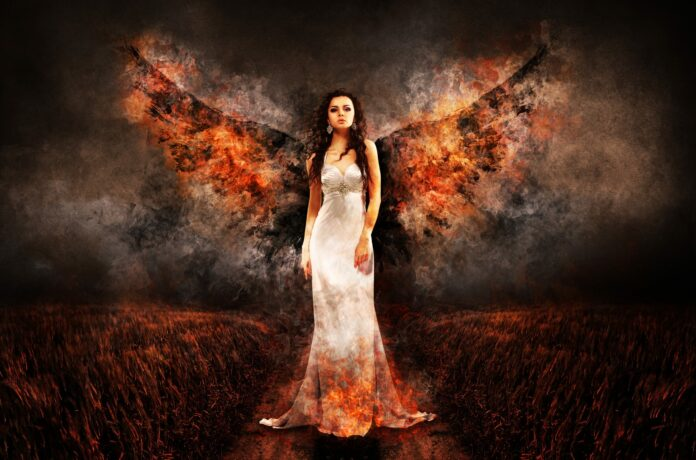 angel, the witch, hell